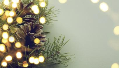 Christmas Pine Lights