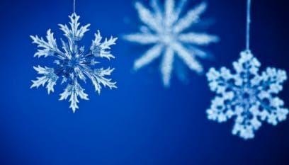 Snow Decorations