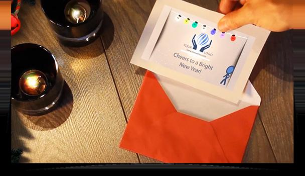 Christmas Inkman eCard - Thumbnail