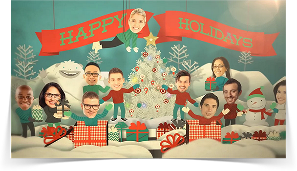 Christmas Team eCard - Thumbnail