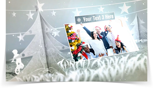 White Holidays eCard - Thumbnail