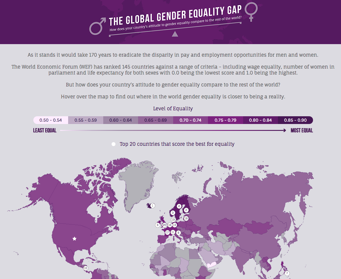 Gender Inequality: The Worst Offenders by Country thumbnail image